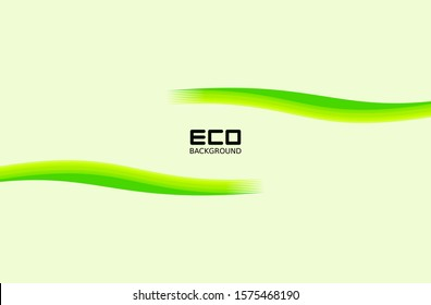 Green eco-friendly backgrounds with leaf patterns for business posts and presentations, natural backgrounds, green abstract backgrounds