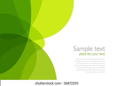 Green Eco-style Background