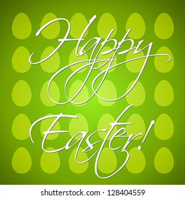 green egg background, easter and spring cocnept,