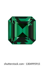 Green Emerald Gemstone
