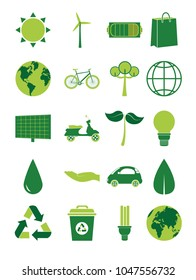 Green energy collection
