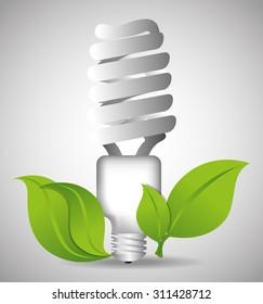 green energy design, vector illustration eps 10.