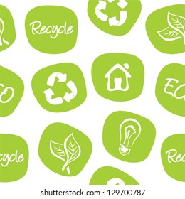 green environment and recycle background