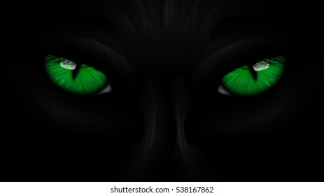 Panther Eyes Images Stock Photos Vectors Shutterstock