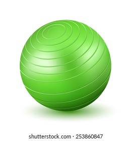 Green Fitball