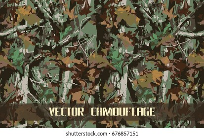 green forest camouflage