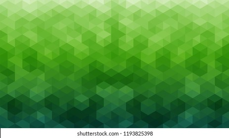 green geometrical abstract background