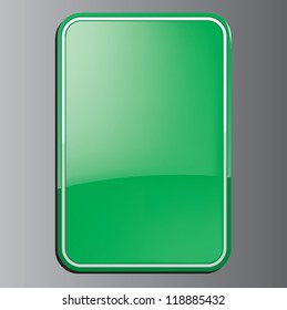 Green Glossy Tablet