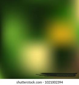 Green gradient background