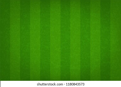 Green grass field pattern for sport background. Grass court for soccer, football, rugby, golf, baseball. Vector illustration.