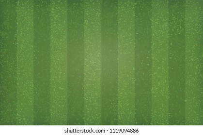 Green grass field pattern and texture for sport and recreation background. Grass court background for soccer, football, rugby, golf, baseball. Vector illustration.