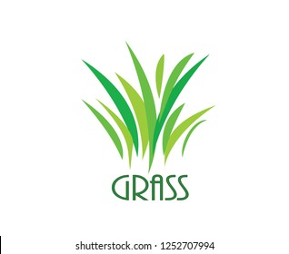 Green grass. Gazon. Vector icon.