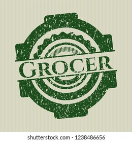 Green Grocer rubber texture