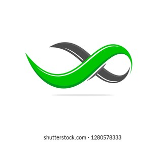 Green Infinity Professional Flat Color