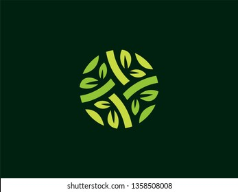 Green Leaf Nature Logo with a modern look are very easily placed in various kinds of Icons, Vectors, Favicons, Logo.