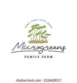 Green leaf or Plant Logo Template