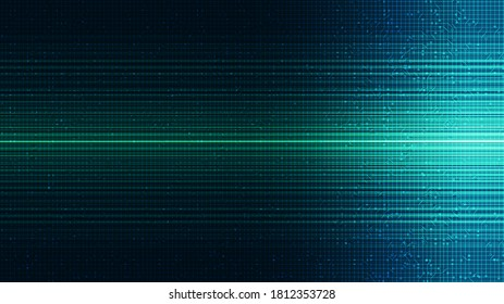 Green Light Technology Background,Hi-tech Digital and Internet Concept design,Free Space For text in put,Vector illustration.