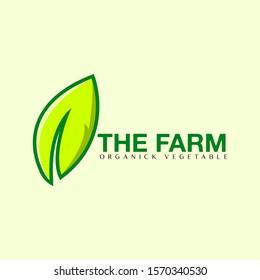 green logo for organick farm