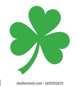 Green luck plant vector design