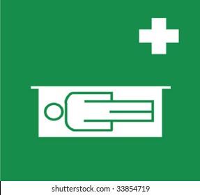 green medical signal