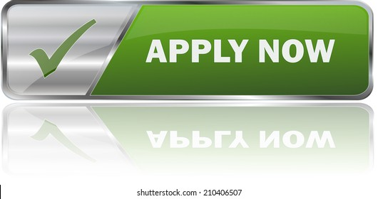 green modern  apply now sign