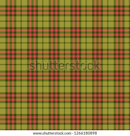 Green Red Tartan Plaid Scottish Pattern. Traditional checkered British  fabric simple pattern. Scotch Tartan Seamless classic texture Background. 70e6e1fd1