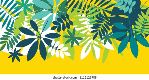 Tropical Floral Header Images Stock Photos Vectors Shutterstock 4 png tropical leaves frames with the size 2400 px 2400 px and 2400 px 3000px and 3 png tropical headers with. https www shutterstock com image vector green simple tropical leaves design element 1113128909