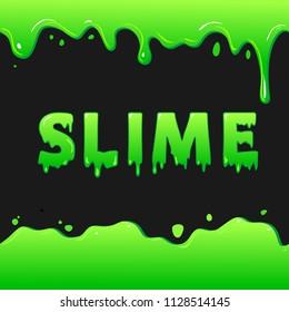 green slime blot