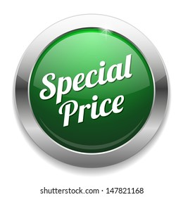 Green special price button
