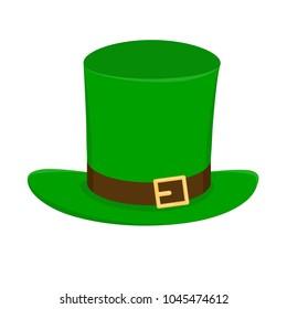 Green St Patricks hat