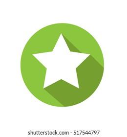 green star icon Vector EPS 10 illustration.