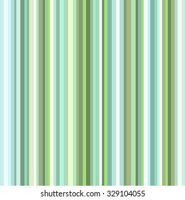 Green striped background on the cover and fabric