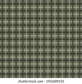 Green striped pattern crisscross vector