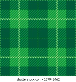 Green Tartan Plaid Pattern Design