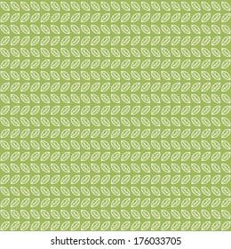 Green tea leaves pattern