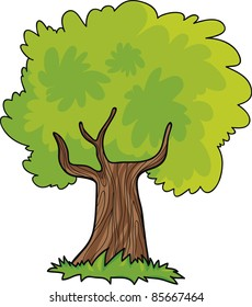 Cartoon Tree Images Stock Photos Amp Vectors Shutterstock