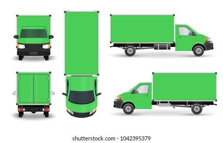 Green truck icon