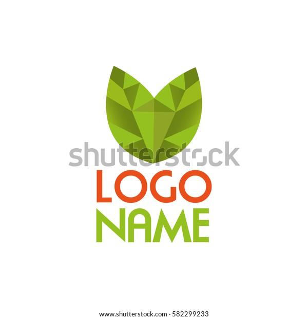 Green tulip logo