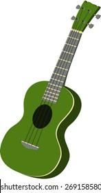 Green Ukulele