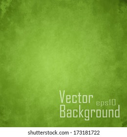 Green Vector Background.