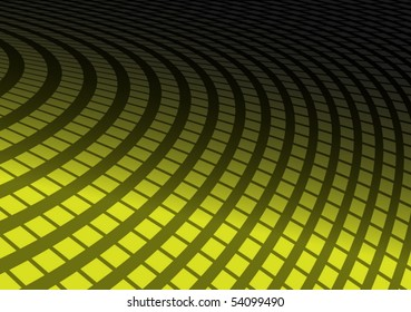 Green vector squared abstract background