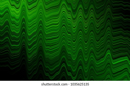 Green vector template with lava shapes. Brand-new colored illustration in marble style with gradient. Marble design for your web site.