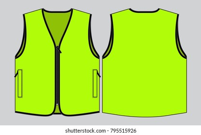 Sleeveless jacket stock images royalty free images for Vest top template
