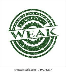 Green Weak distress rubber texture