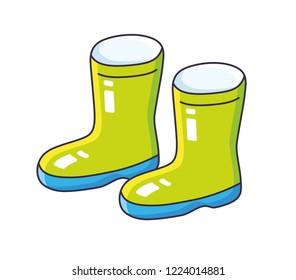 Cartoon Wellies Images, Stock Photos & Vectors | Shutterstock