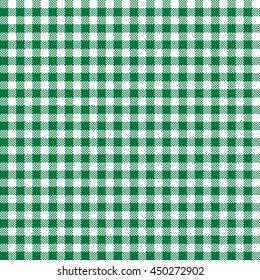 green & white gingham pattern, seamless texture background