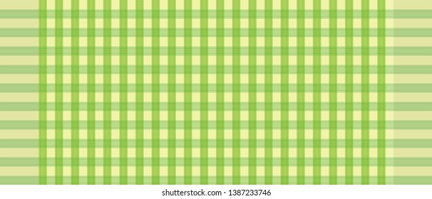 Green and white loincloth vector and illustration.texture background abstract.checkers tablecloth.Abstract background.
