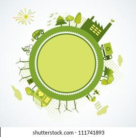 Green world, green planet, go green