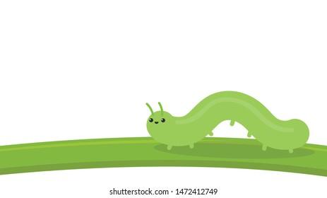 Vectores Imágenes Y Arte Vectorial De Stock Sobre Larva
