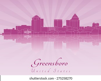 Greensboro Skyline Images, Stock Photos & Vectors | Shutterstock